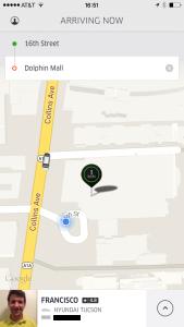 Uber ekran görüntüsü